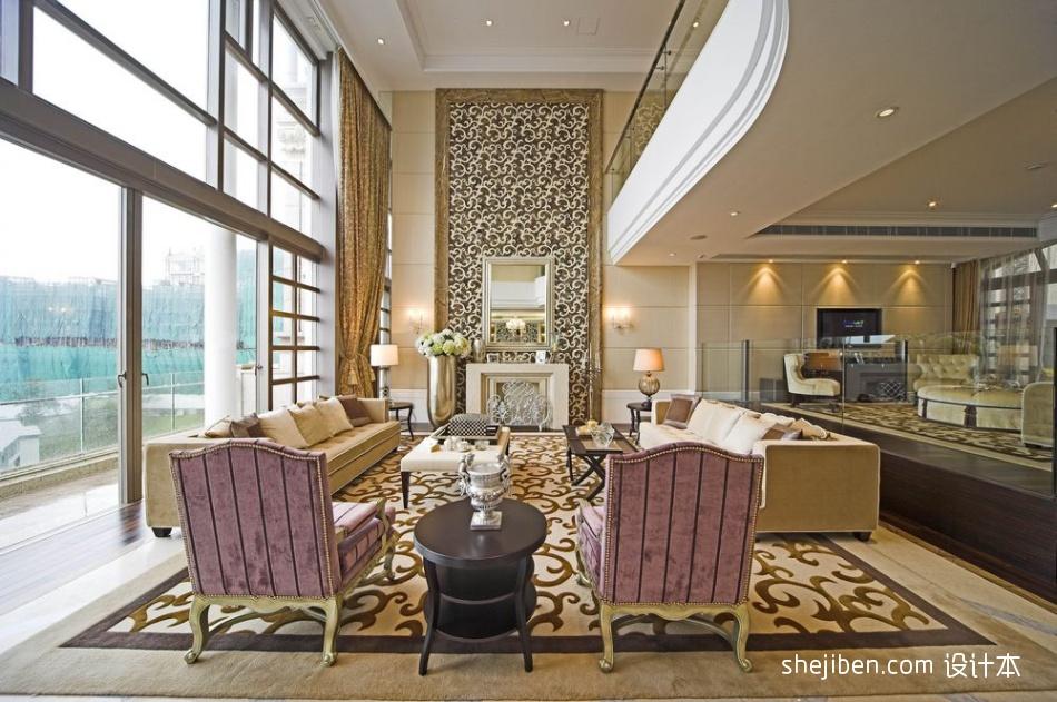 精美混搭装修欣赏图客厅潮流混搭客厅设计图片赏析