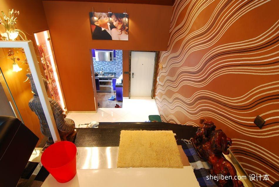 风尚波普打造香艳美屋家装楼梯间装修效果图设计图片赏析