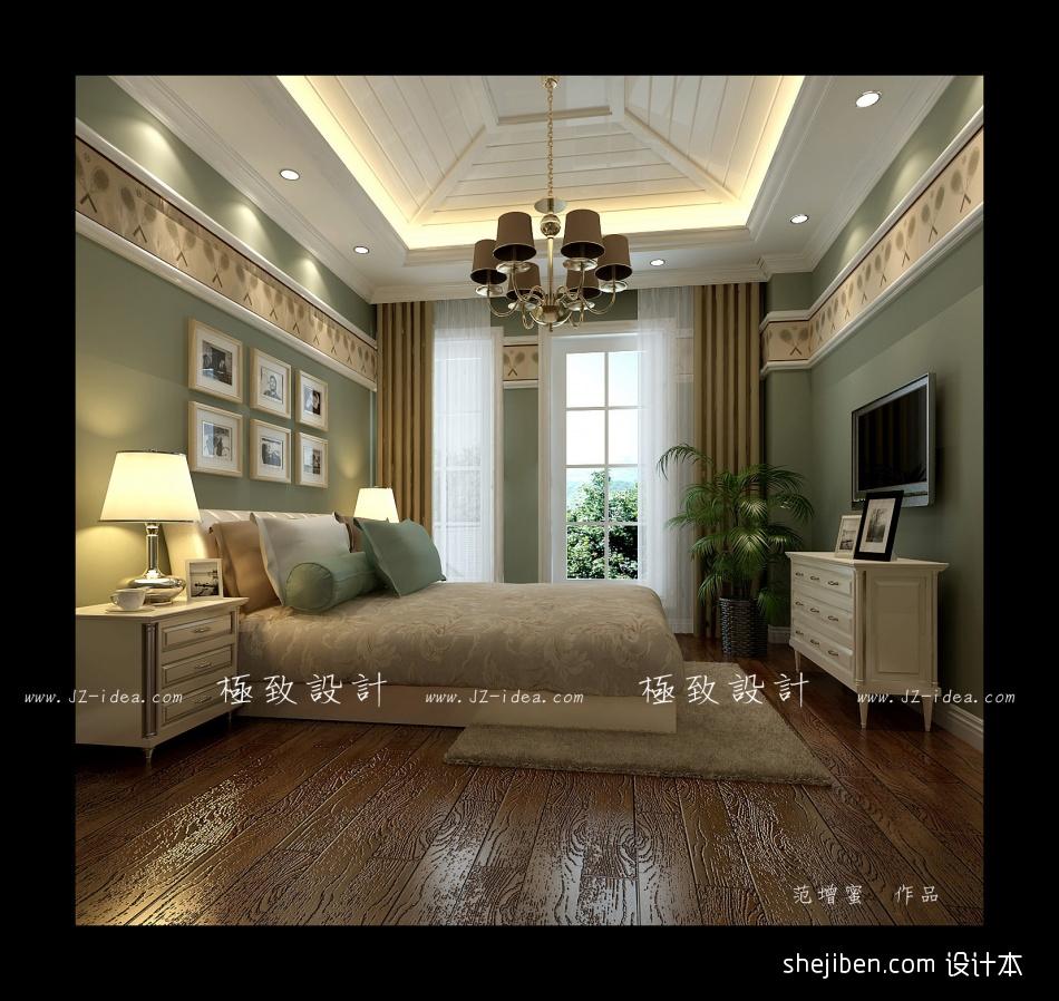 精美大小117平别墅卧室混搭实景图片卧室潮流混搭卧室设计图片赏析