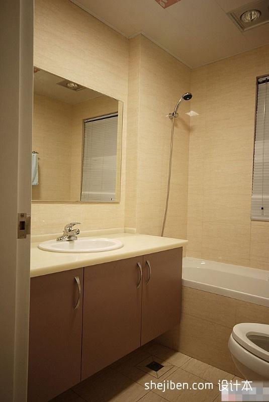 精选卫生间混搭效果图卫生间潮流混搭卫生间设计图片赏析
