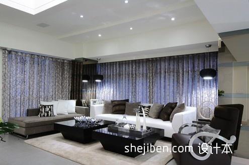 华丽422平混搭别墅客厅装修装饰图客厅潮流混搭客厅设计图片赏析