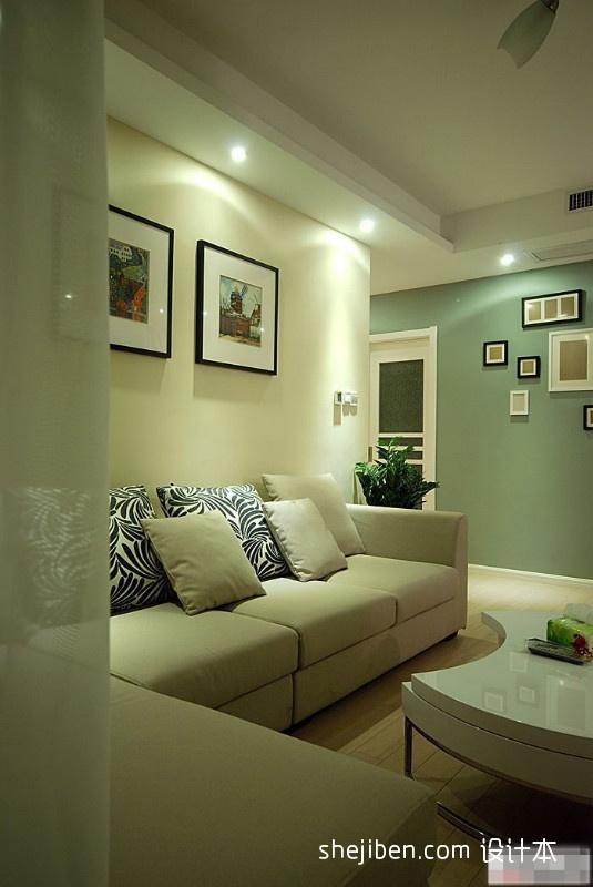 93.3平精美混搭客厅装修图客厅潮流混搭客厅设计图片赏析