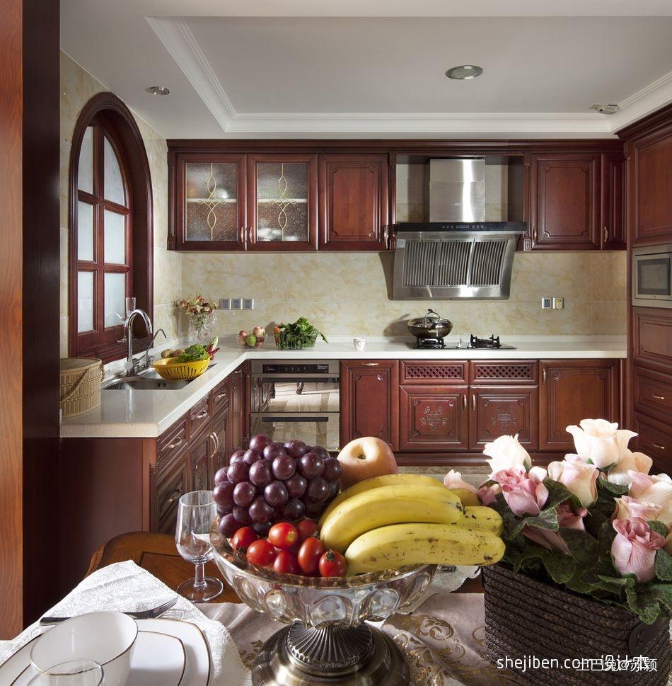 平混搭三居厨房图片大全餐厅潮流混搭厨房设计图片赏析