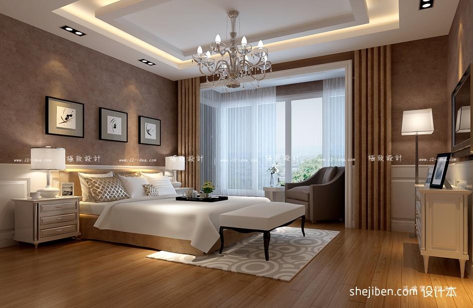 精选面积97平混搭三居卧室装饰图片欣赏卧室潮流混搭卧室设计图片赏析