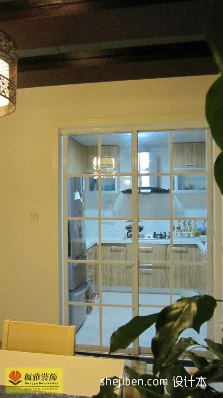 精美面积101平混搭三居厨房装修图片欣赏餐厅潮流混搭厨房设计图片赏析