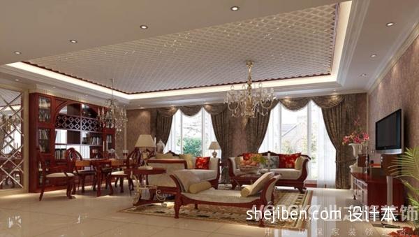 平混搭复式客厅装修设计图客厅潮流混搭客厅设计图片赏析