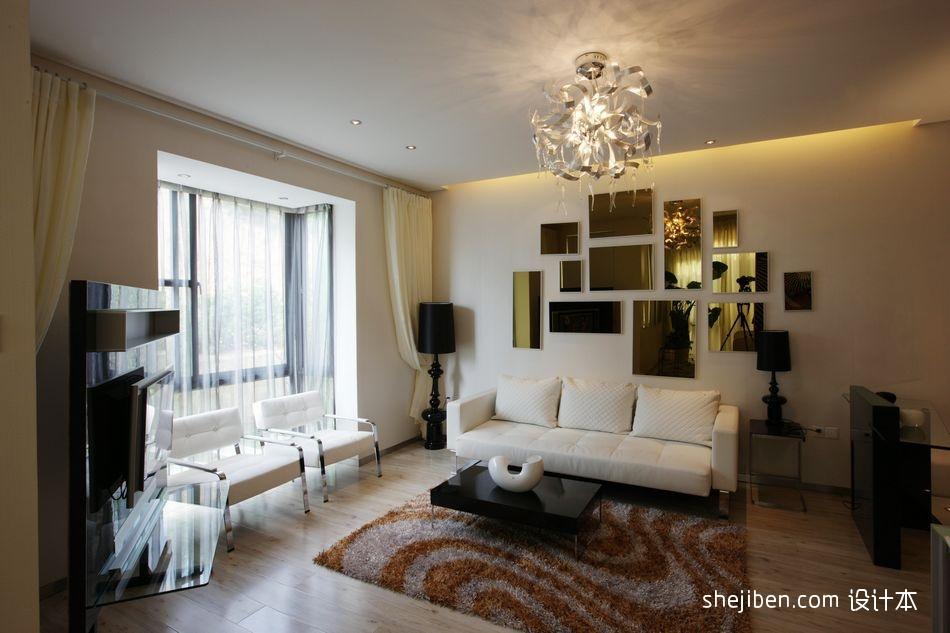 精选混搭装饰图客厅潮流混搭客厅设计图片赏析