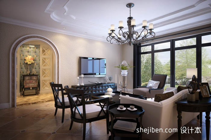 面积133平复式客厅混搭欣赏图片大全客厅潮流混搭客厅设计图片赏析