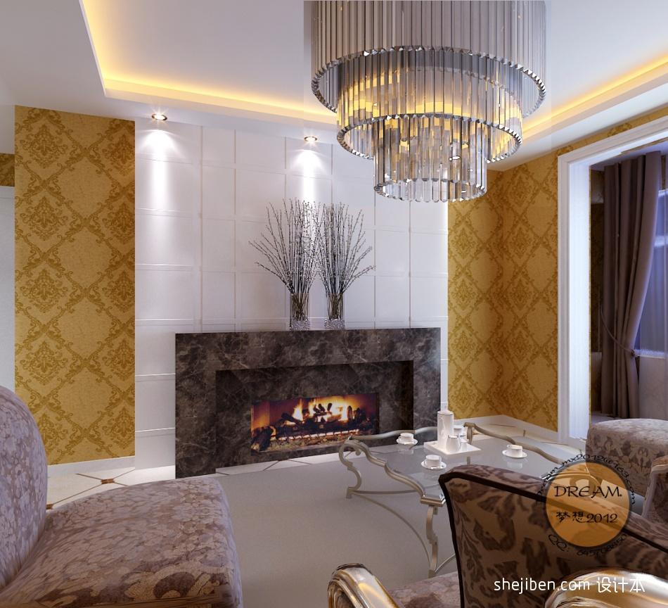 精美82平混搭二居客厅实拍图客厅潮流混搭客厅设计图片赏析