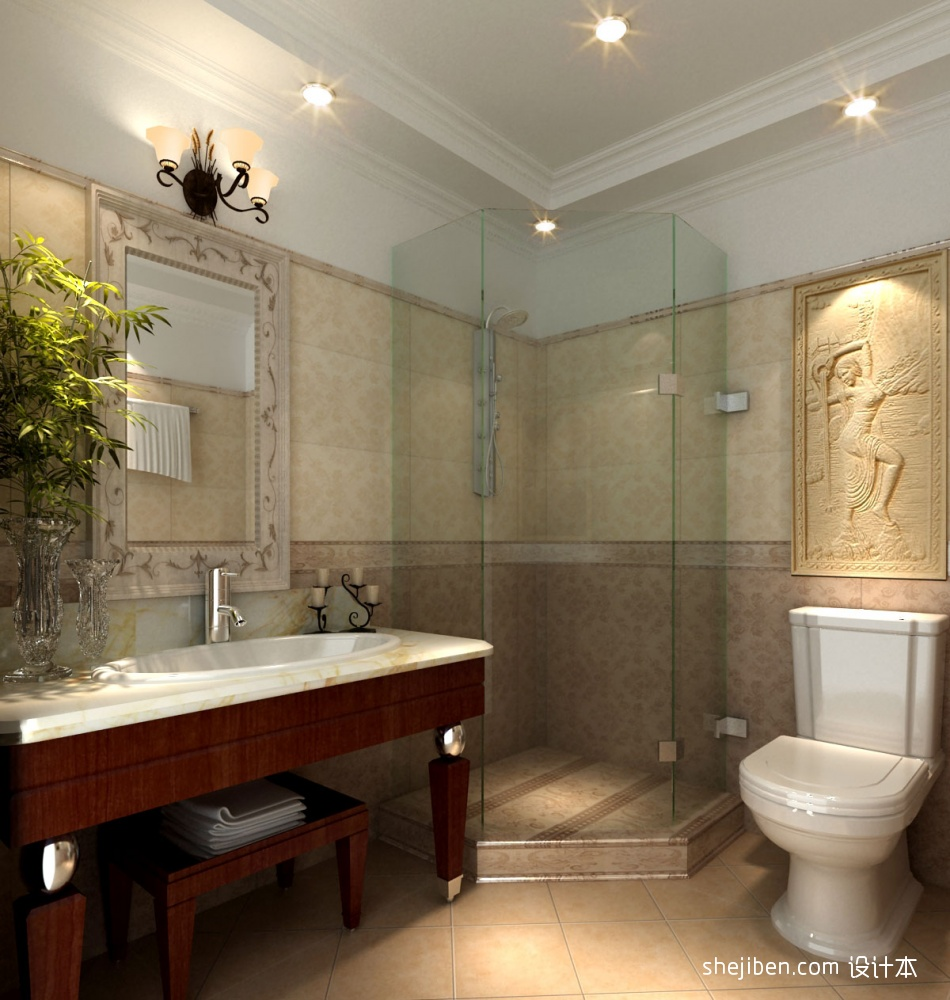 卫生间酒店空间其他设计图片赏析