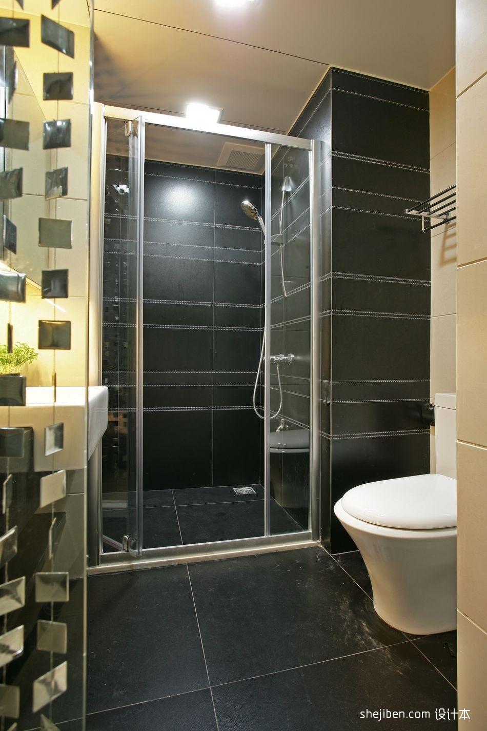 现代主卧卫生间洗浴间装修效果图设计图片赏析