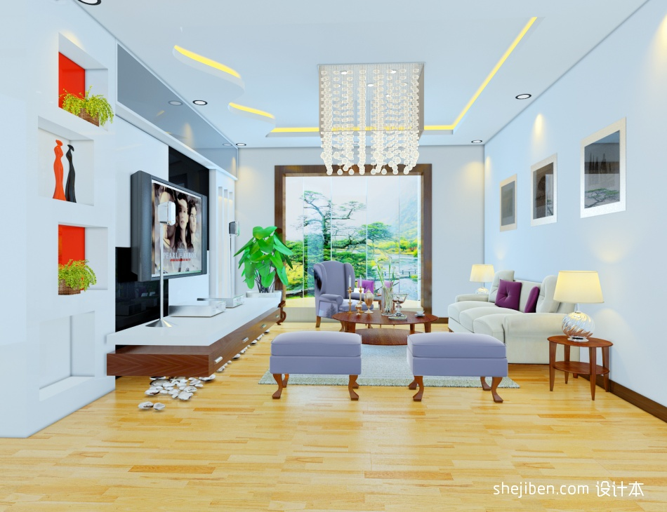 精美客厅混搭装修设计效果图客厅潮流混搭客厅设计图片赏析