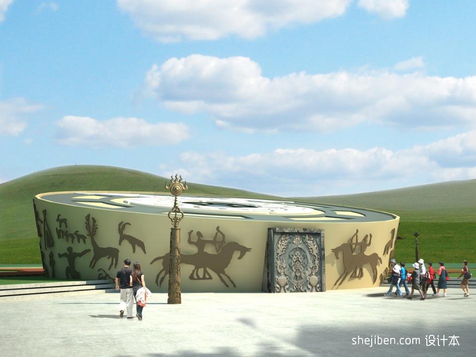 博物馆侧视图教育机构其他设计图片赏析