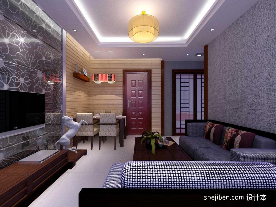精选二居混搭装修实景图86平客厅潮流混搭客厅设计图片赏析