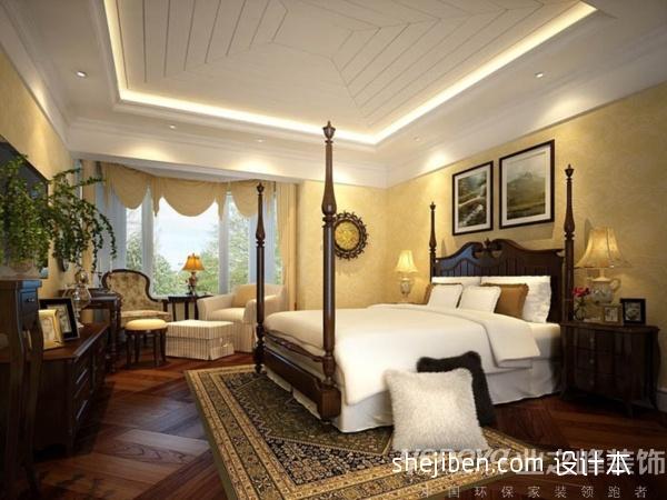 优雅46平混搭复式卧室图片大全卧室潮流混搭卧室设计图片赏析