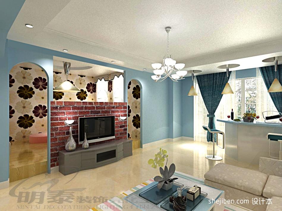 热门面积130平复式客厅混搭装修效果图客厅潮流混搭客厅设计图片赏析