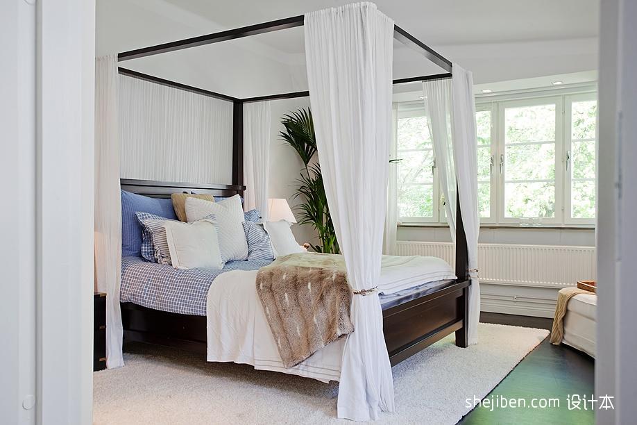 精选面积86平现代二居卧室装修图卧室现代简约卧室设计图片赏析