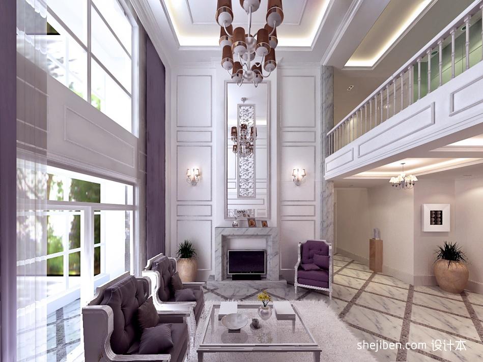 精美85平混搭复式客厅装修效果图客厅潮流混搭客厅设计图片赏析