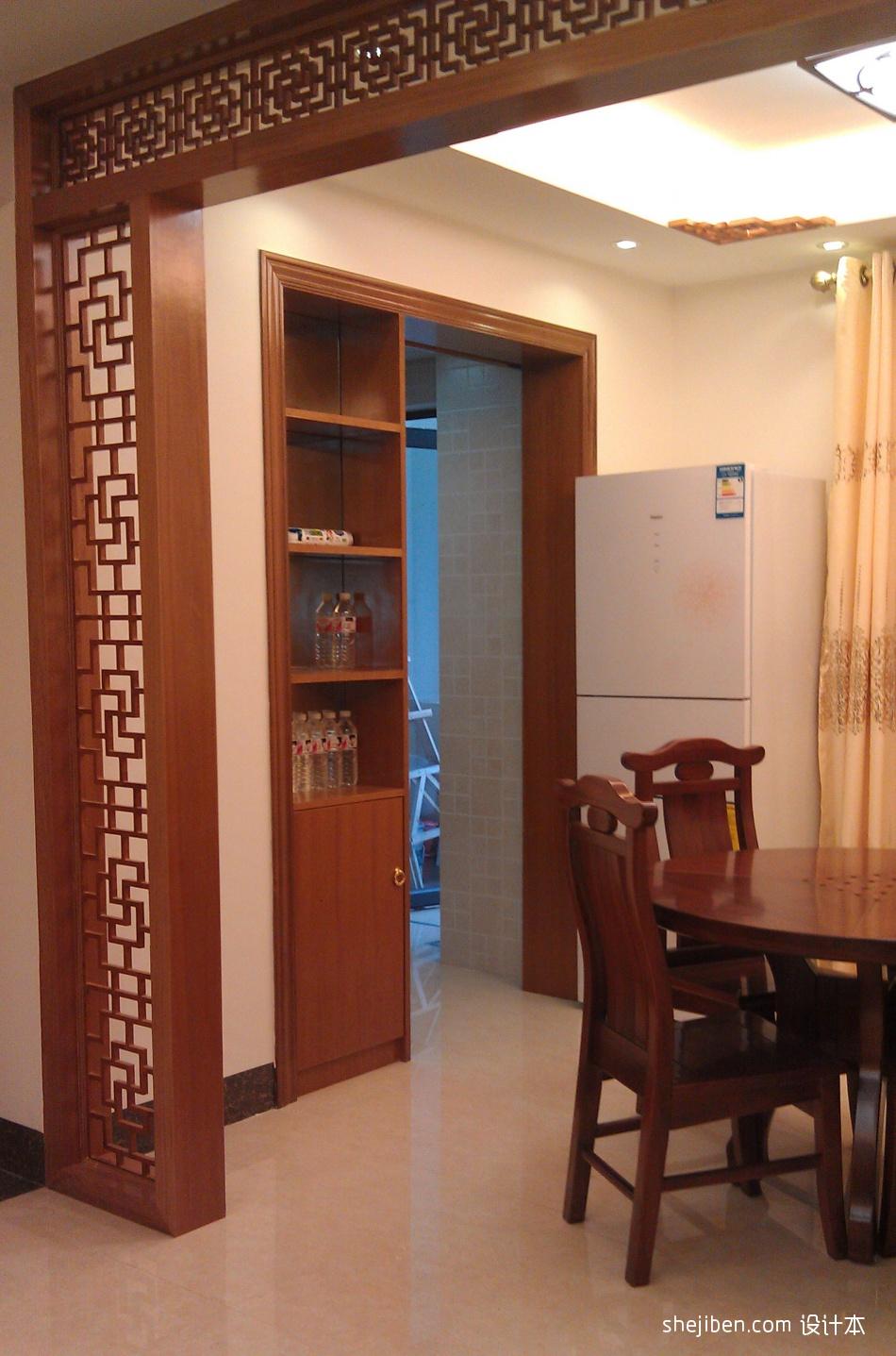 精选大小137平混搭四居餐厅装修实景图厨房潮流混搭餐厅设计图片赏析