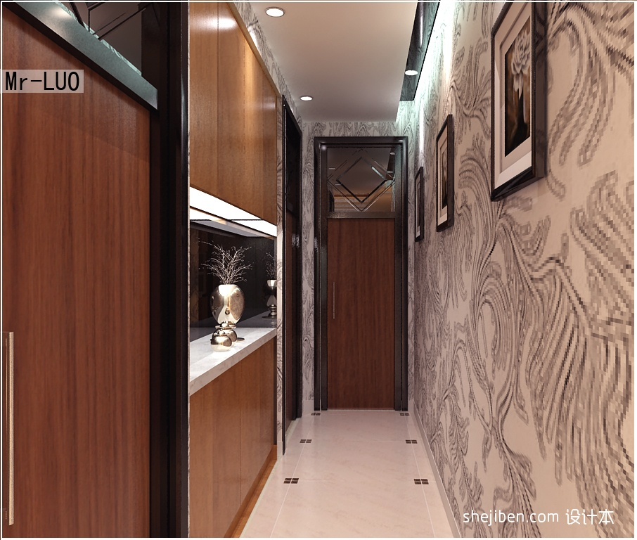 75.4平热门客厅混搭装修图片客厅潮流混搭客厅设计图片赏析