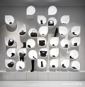 2013个性服装店装修效果图