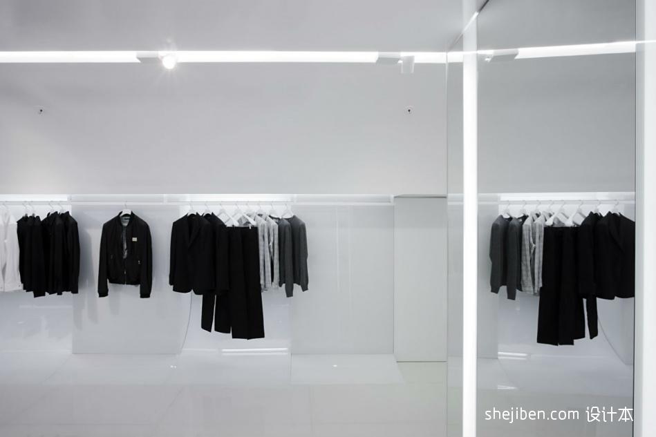服装店铺装修风格效果图设计图片赏析