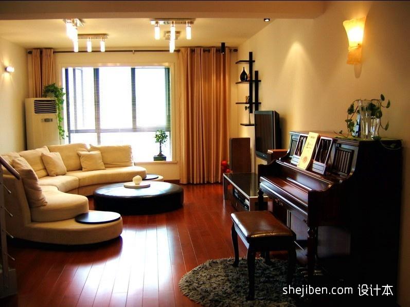 热门111平米混搭复式客厅装修效果图片大全客厅潮流混搭客厅设计图片赏析
