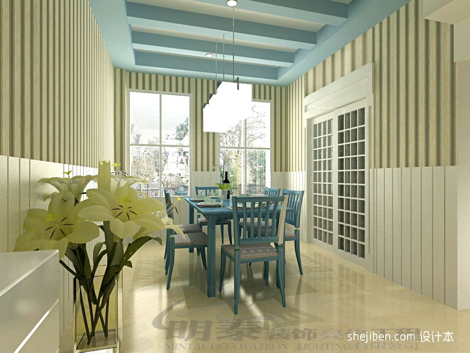 精选面积119平复式餐厅混搭装饰图片厨房潮流混搭餐厅设计图片赏析