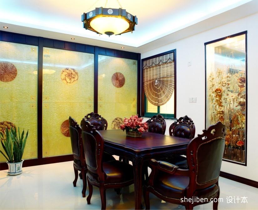 明亮996平混搭别墅餐厅图片欣赏厨房潮流混搭餐厅设计图片赏析