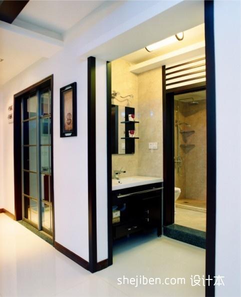 优美673平混搭别墅卫生间设计图卫生间潮流混搭卫生间设计图片赏析