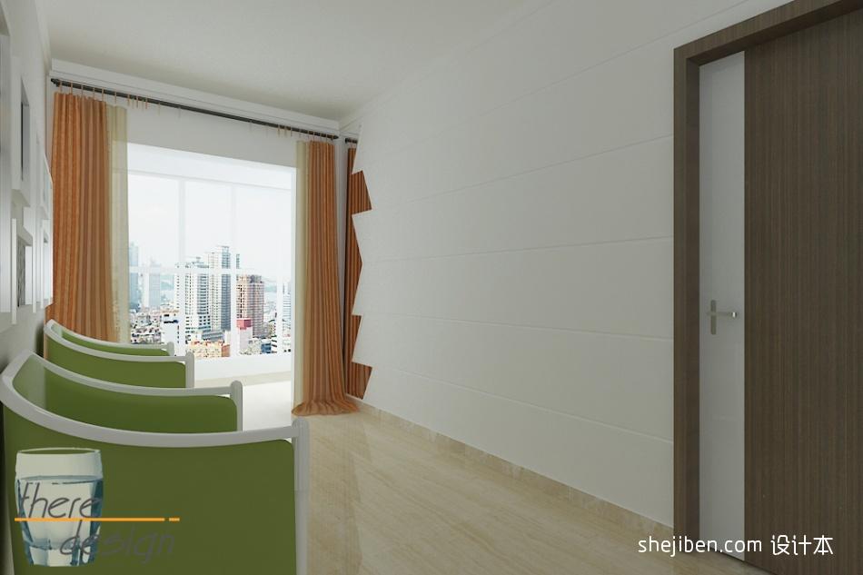 精美102平米三居休闲区混搭实景图片功能区潮流混搭功能区设计图片赏析