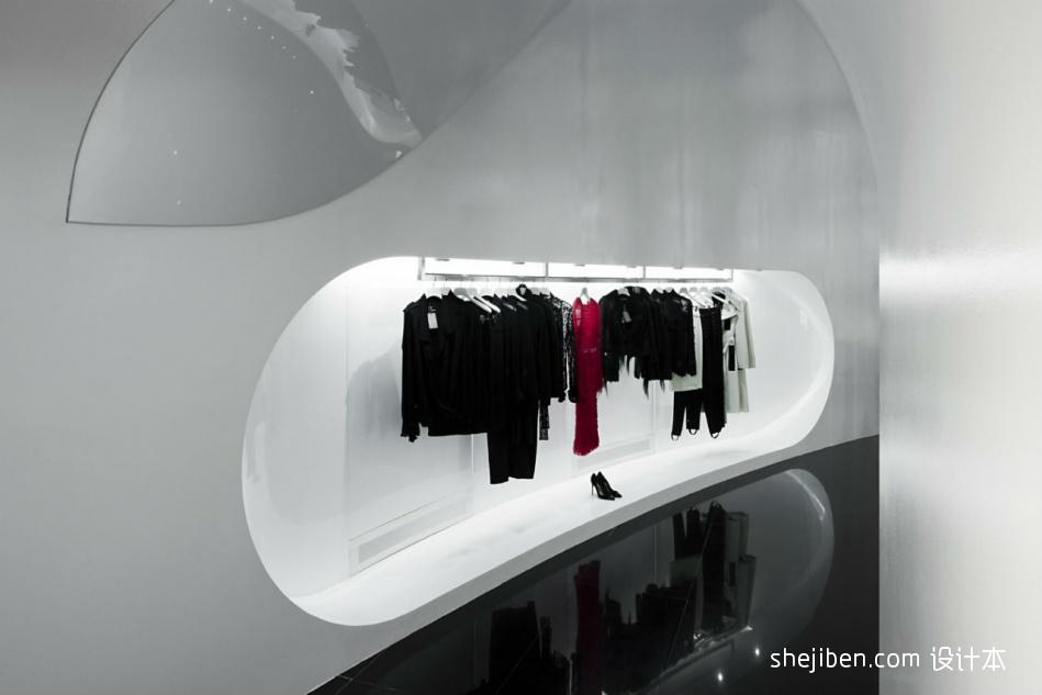 女服装店面装修设计效果图设计图片赏析
