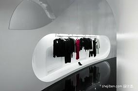 女服装店面装修设计效果图