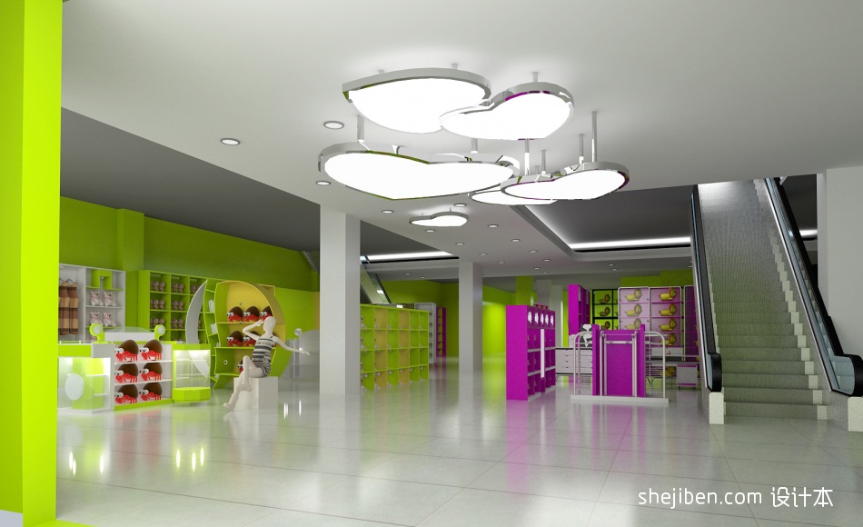 1购物空间设计图片赏析