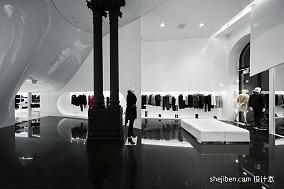 时尚服装店面装修效果图片