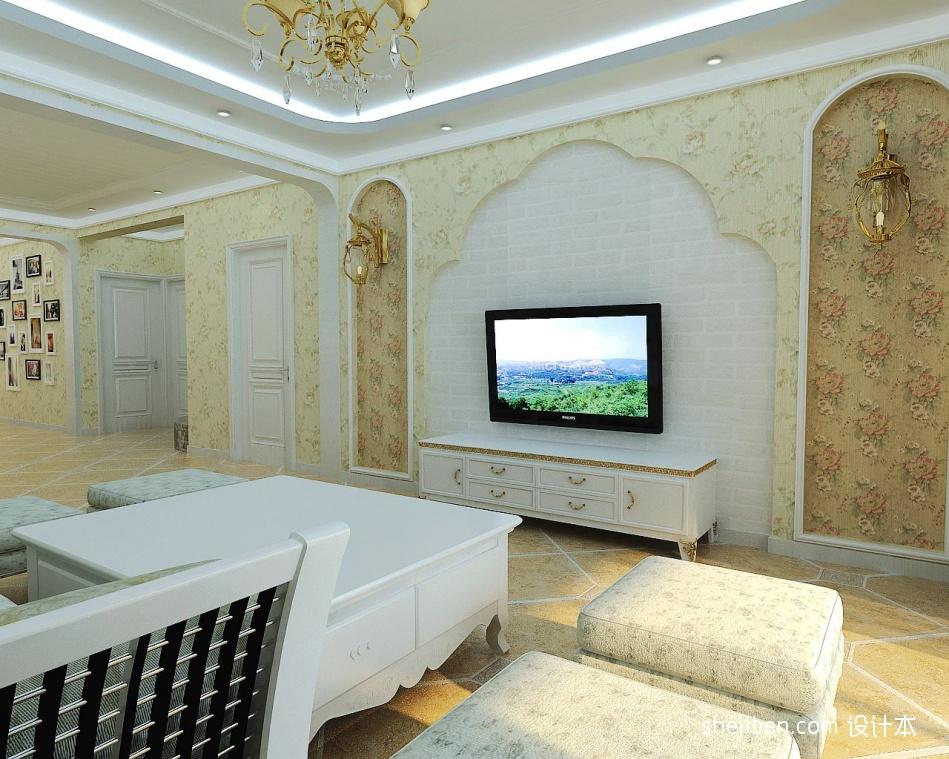 精致39平混搭小户型客厅设计效果图客厅潮流混搭客厅设计图片赏析