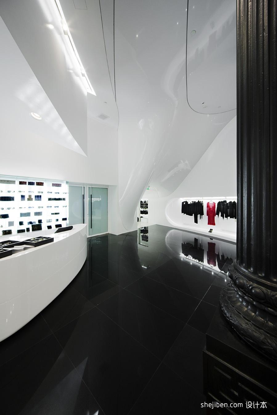 女服装店面装修设计效果图片设计图片赏析