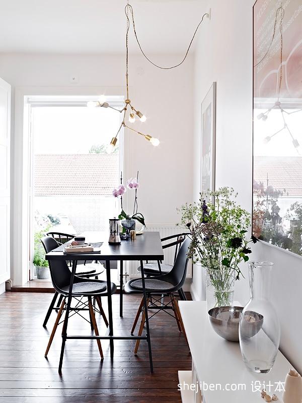 精选小户型餐厅现代装修设计效果图片欣赏厨房现代简约餐厅设计图片赏析