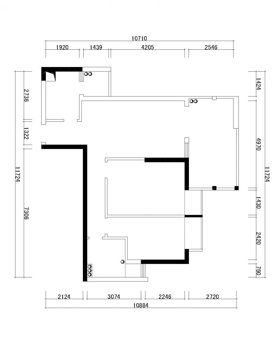 轻奢306平混搭样板间客厅实拍图客厅潮流混搭客厅设计图片赏析