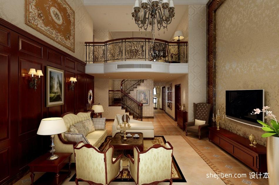 热门面积121平复式客厅混搭实景图客厅潮流混搭客厅设计图片赏析