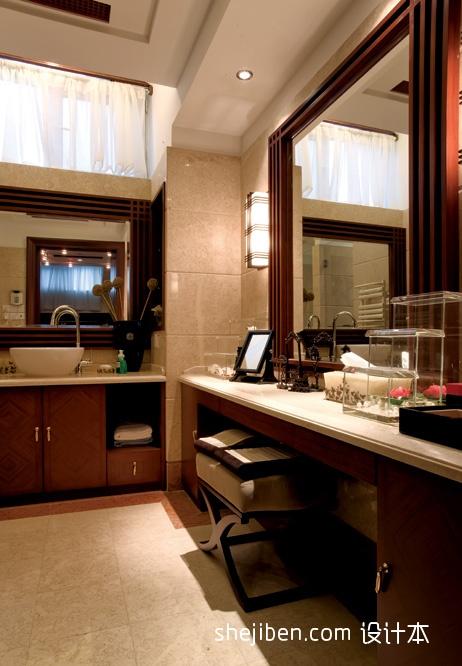 精选面积118平复式卫生间混搭装修图片卫生间潮流混搭卫生间设计图片赏析