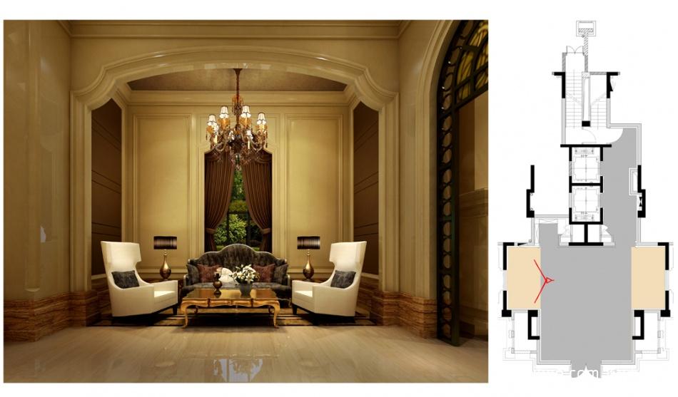 95.8平精美混搭客厅实景图片客厅潮流混搭客厅设计图片赏析