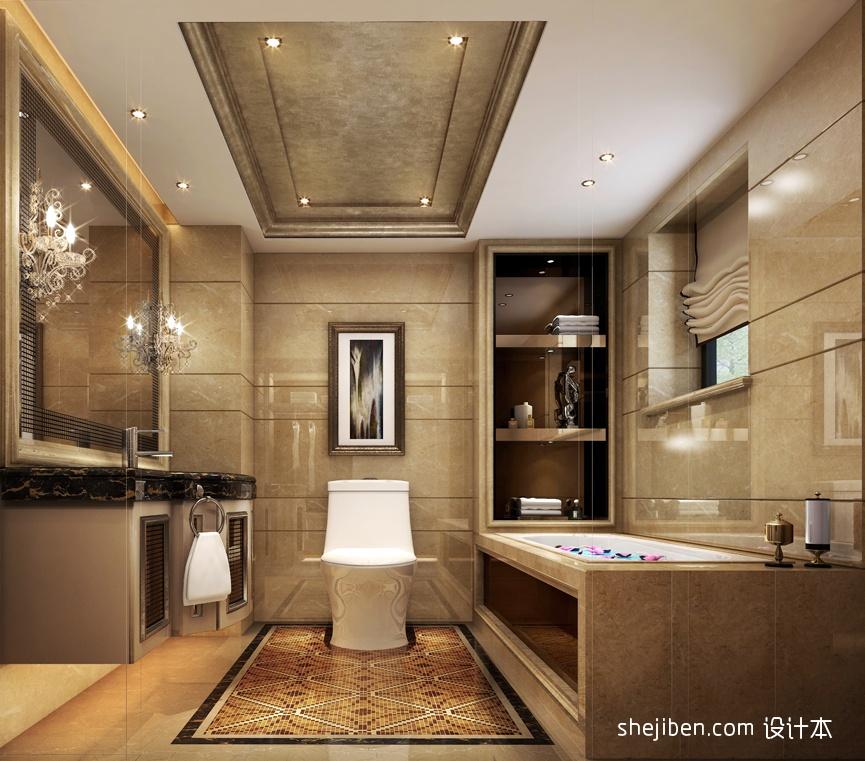 精选卫生间混搭装修效果图片大全卫生间潮流混搭卫生间设计图片赏析
