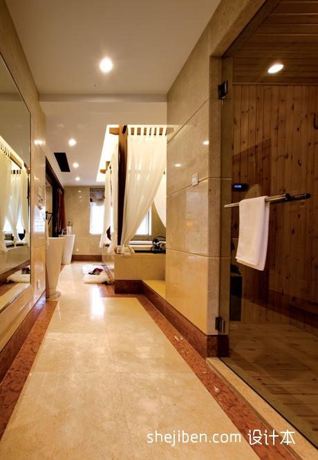 精选面积116平复式卫生间混搭装修设计效果图片大全卫生间潮流混搭卫生间设计图片赏析