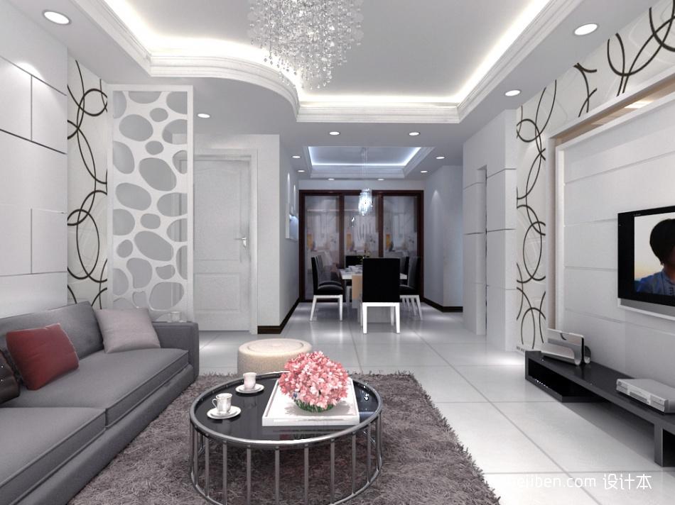 热门83平米混搭小户型客厅装修欣赏图片大全客厅潮流混搭客厅设计图片赏析