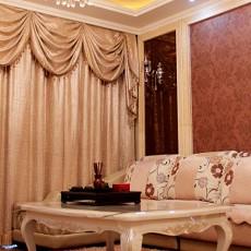 优雅的客厅窗帘装修效果图