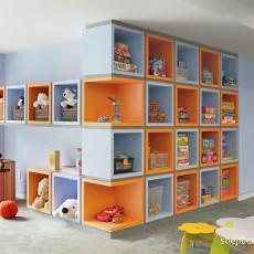 精致的收纳盒儿童房装修效果图