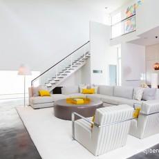 客厅装修效果图大全2014图片 复式客厅装修效果图