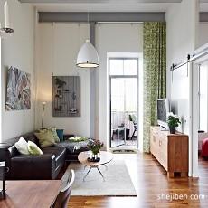 50平米小户型公寓客厅装修效果图