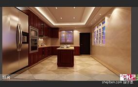 简美80平米两室一厅户型图